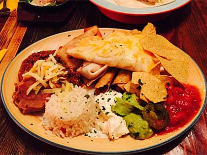 Mexican and American Cuisine at Montagues